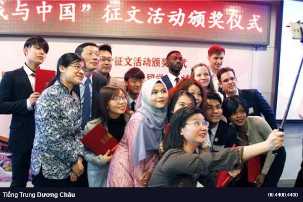 du học sinh nước ngoài tại Trung Quốc