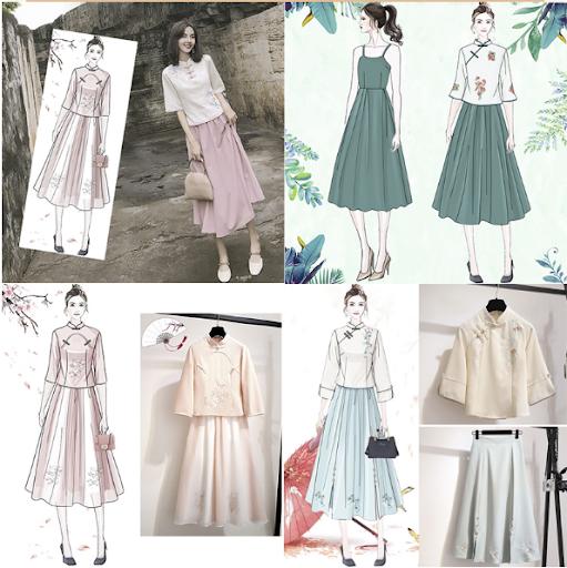 Trang phục Trung Quốc cách tân